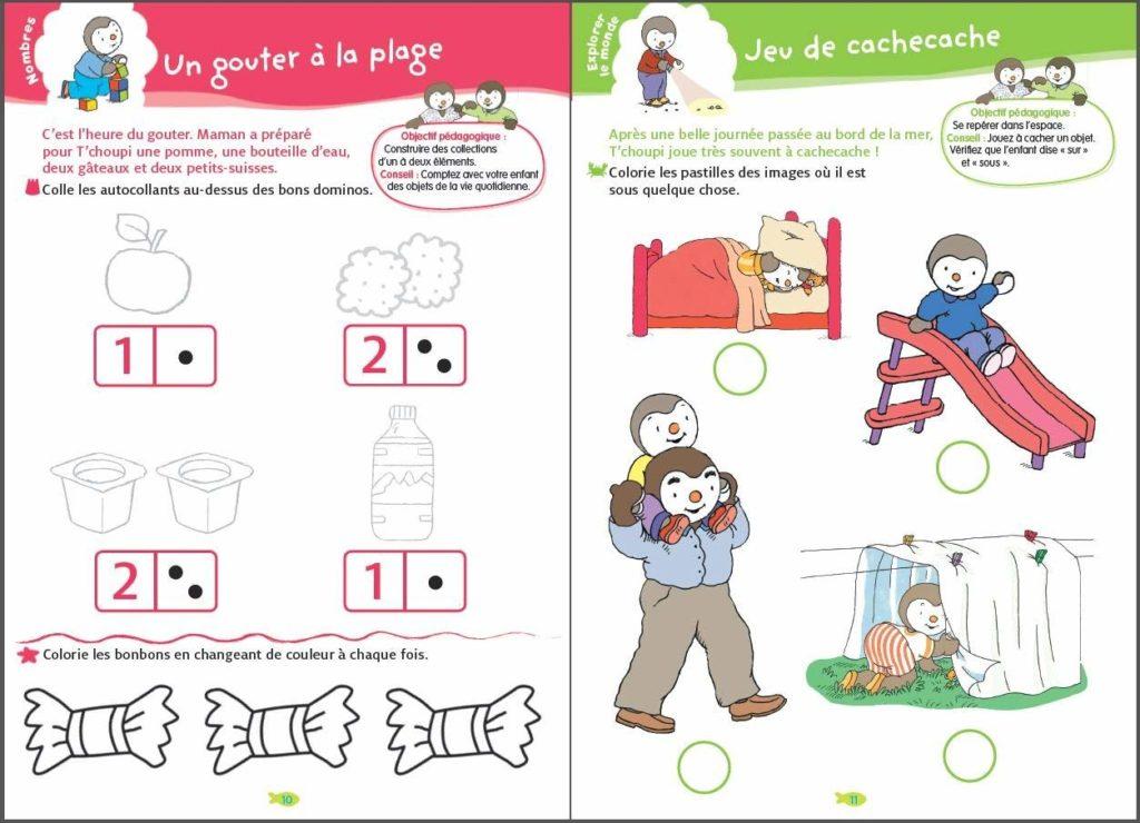 Activite Tps Toute Petite Section De Maternelle Des 2 Ans Jeux Et Partage